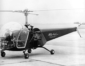 A Bell helicopter