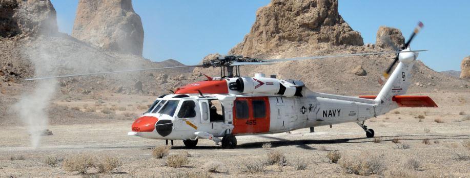 NAS China Lake Helicopter
