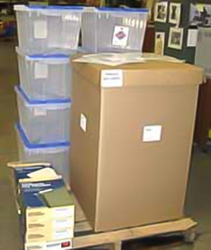 IBC Record Storage Boxes; Record Retention Kit, NFES #002990