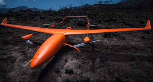 Image of a AltiTransition unmanned aircraft.