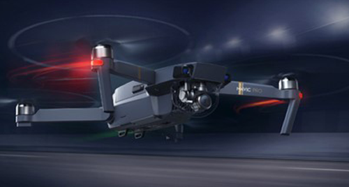 Image of a MAVIC Pro unmanned aircraft.