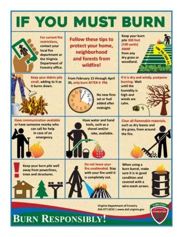 If you must burn: 11 tips for debris burning
