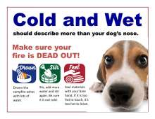 Cold and wet should describe more than your dog's nose. Image of dog, drown, stir and feel graphics.