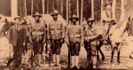 Buffalo Soldiers of the 25th Infantry based at Fort George Wright in Spokane were called in to fight the 1910 fire and protect residents of Avery, Idaho.