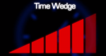Image of a time wedge graph that grows larger from left to right.