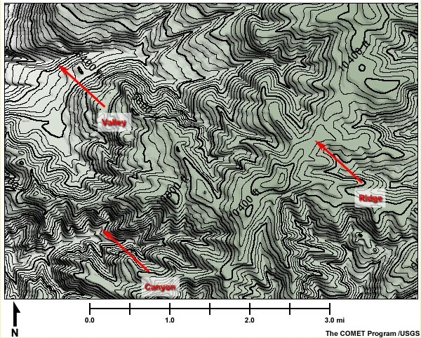 5.5 Contour Lines and Intervals | NWCG on