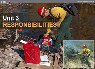Slide 1 of Unit 3 for S-211 Portable Pumps and Water Use
