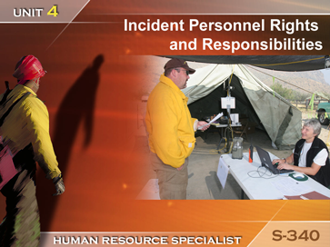 Slide 1 of Unit 4 for S-340 Human Resource Specialist