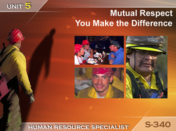 Slide 1 of Unit 5 for S-340 Human Resource Specialist