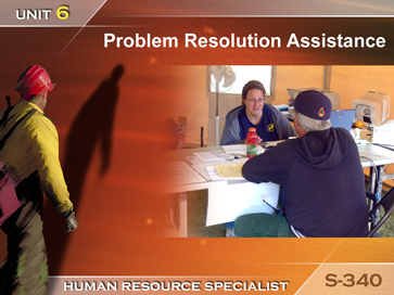 Slide 1 of Unit 6 for S-340 Human Resource Specialist