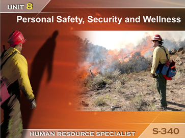 Slide 1 of Unit 8 for S-340 Human Resource Specialist