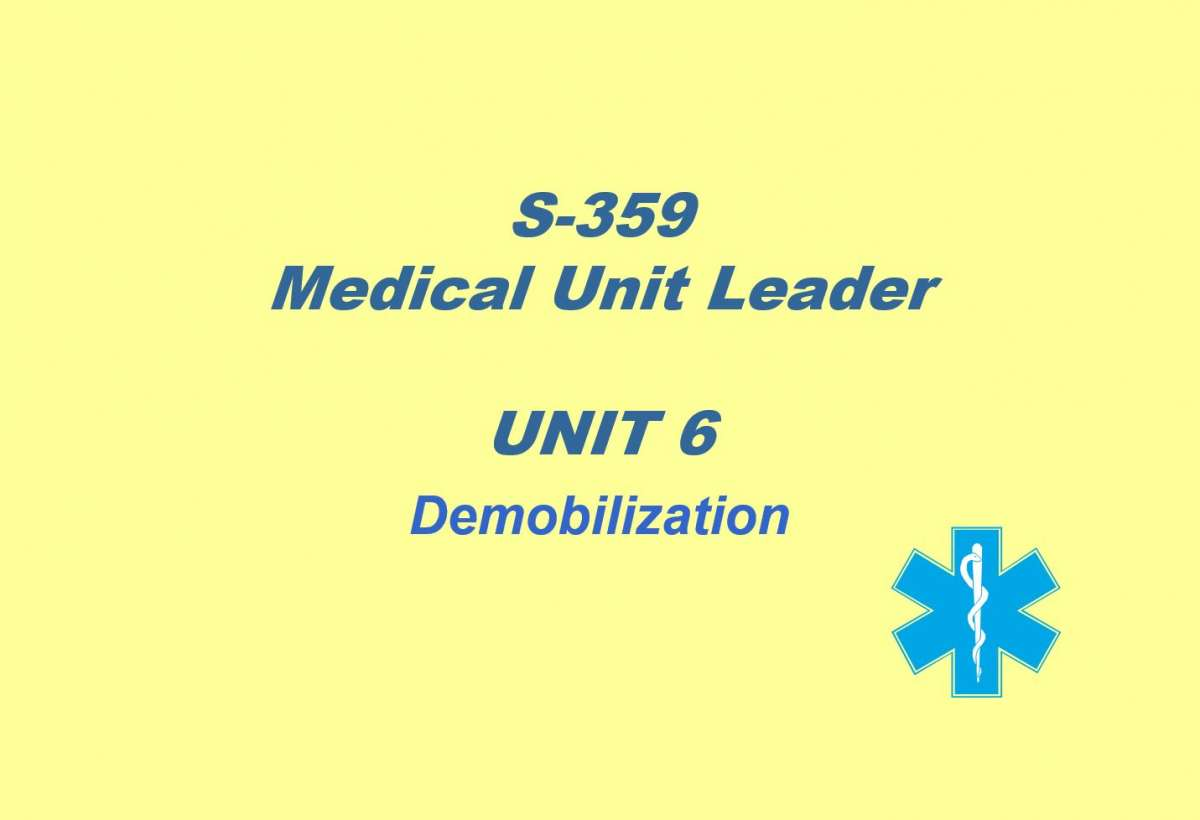 Slide 1 of Unit 6 for S-359