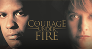 image of Courage Under Fire movie text