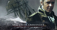 image of ship and captain in Master and Commander movie