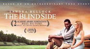 image of two people sitting in The Blind Side movie poster