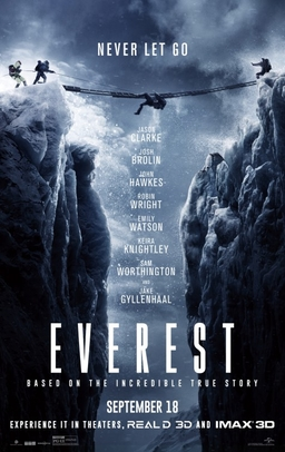image of Everest movie jacket