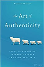 image of book jacket for the Art of Authenticity
