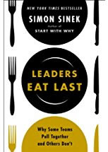 image of book jacket for Leaders Eat Last