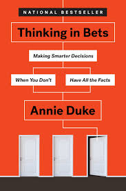 image of book jacket for Thinking in Bets