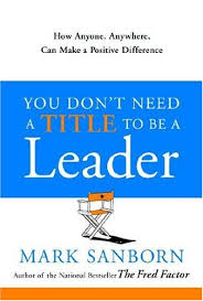 image of book jacket for You Don't Need a Title to be a Leader
