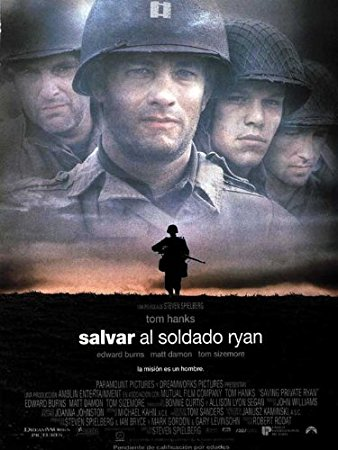image of Saving Private Ryan movie jacket