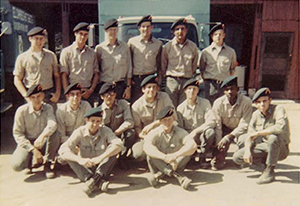 El Cariso Hotshots: Photo of Crew 1 taken in October 1966.